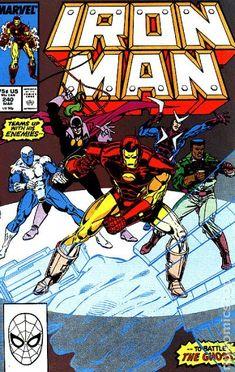 Iron Man (Mar Marvel) for sale online Iron Man Comic Books, Marvel Comic Books, Comic Book Heroes, Marvel Characters, Comic Books Art, Comic Book Artists, Comic Artist, Tony Stark, Marvel Animation