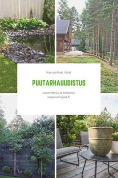 Pikkupihojen uudistukset tyylillä ja taidolla. Garden Design, Plants, Landscape Designs, Plant, Planets, Yard Design