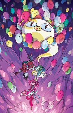 Adventure Time - Fionna, Cake, Marshall Lee, and Prince Gumball Cartoon Adventure Time, Adventure Time Anime, Marceline, Abenteuerzeit Mit Finn Und Jake, Desenhos Cartoon Network, Adveture Time, Land Of Ooo, Fanart, Finn The Human