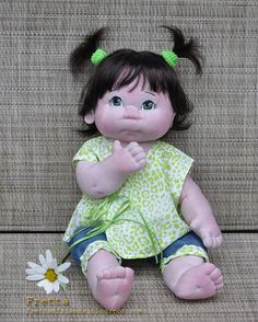 Little Darling 10'2012. 38 cm / 15 Soft by FrettasLovableDolls