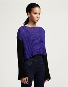 #rachelrutt Primo Sweater - wool and the gang