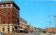 This small mountain town is Norton, Virginia.  It is one of my favorite places that I lived.  The people are so friendly and a good friend of mine still lives there.  Hi Vicki!  Such wonderful memories of this place and the people.