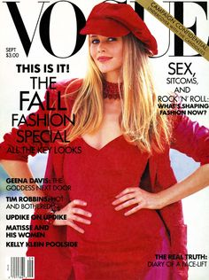 At 46, Claudia Schiffer Is Still the Ultimate Blonde Bombshell