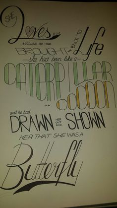 #quote#love#drawing#lettering