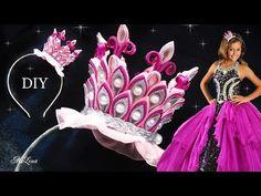 Ободок с розами, МК / DIY Rose Headband / Rose tutorial / Роза канзаши - YouTube
