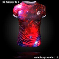 The Galaxy Tee Premium Streetwear www.iNapparel.co.uk