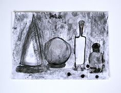 Jul's Charcoal Drawing Shapes