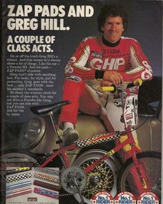 Your thoughts on zap pads??? #oldschoolbmx #bmx #greghill