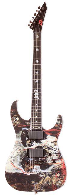 ESP LTD SLAYER CUSTOM GUITAR HEAVY METAL T-SHIRTS and METALHEAD COMMUNITY BLOG. The World's No:1 Online Heavy Metal T-Shirt Store & Metal Music Blog. Check out our Metalhead Clothing and Apparel Store, Satanic Fashion and Black Metal T-Shirt Stores; https://heavymetaltshirts.net/ #customguitars