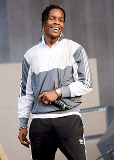 celebritiesofcolor: A$AP Rocky performs on day 1... - 〰