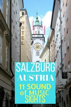 Heading To Salzburg, Austria And Want To See The Classic Filming Locations From The Timeless Film The Sound Of Music? At that point Be Sure To Check Out This Post With 11 Great Sites You Can Visit Europe Destinations, Europe Travel Tips, European Travel, Travelling Europe, Traveling, European Vacation, Usa Travel, Innsbruck, Sound Of Music Live