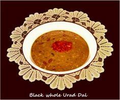 Black Whole Urad Dal (Black gram)    Black whole urad Dal / Ma Ki Dal