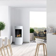 Stow stor biokamin hvid Design, Home Decor, Decoration Home, Room Decor, Home Interior Design, Home Decoration, Interior Design