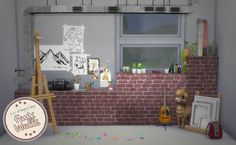 Faux Walls with Slots at Oh My Sims 4 via Sims 4 Updates