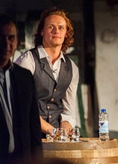 New Pic of Sam Heughan at Laphroaig Event