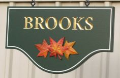 Brooks Property Sign