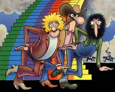The Fabulous Furry Freak Brothers - heroes of the underground comic world