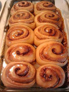 sourdough overnight cinnamon rolls!!