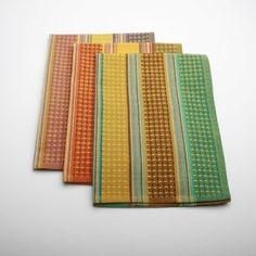 TAG Harvest Market Jardin Waffle Weave Dishtowel (Set of 3)