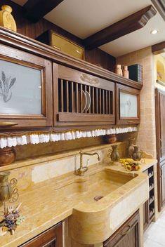 Cucine in muratura: Cucina Thuia da Gatto Cucine | Spaces ...