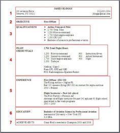 Pilot Sample Resume U0026 An Example Resume