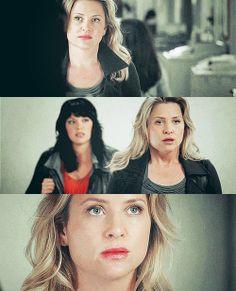 Calzona - Greys Anatomy - Arizona Robbins - Callie Torres - Jessica Capshaw - Sara Ramirez