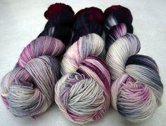 Handyed yarn used to knit Ravelry romarno's Hol mal nen Löffel...