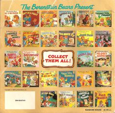 Bernstein Bears. Used to read these books all the time when I was a little girl. They actually helped with my reading skills.