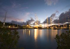 Historic Falmouth Harbour in Antigua is just a stone's throw from our hotel, Carlisle Bay.