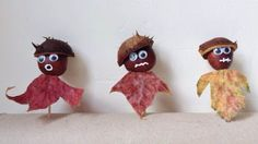 Conker People : 5 Autumn Leaf Projects // Kid Crafts