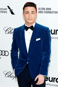 Rockin the velvet. #formal#tux