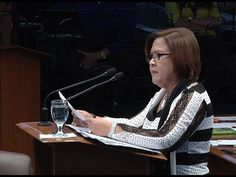 """Sen. De Lima prepares for """"worst possible scenario - WATCH VIDEO HERE -> http://dutertenewstoday.com/sen-de-lima-prepares-for-worst-possible-scenario/   Senators say that fellow colleague, Sen. Leila de Lima can only be arrested if cases filed in court are punishable by more than 6 years of imprisonment.  Joyce Balancio will tell us why. For more videos:  Check out our official social media accounts: Instagram account – @UNTVLife Feel..."""