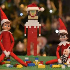 Am I wrong to worry the Lego Elf is going to kill them in their sleep? From The Adventures of Alfie and Poppy the Elves.