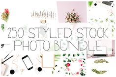 250 Styled Stock Photo Bundle by Floral Deco on @creativemarket #ad