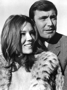 Diana Rigg est la Comtesse Teresa di Vincenzo, épouse de James Bond (1969) avec George Lazenby - Au service secret de Sa Majesté (On Her Majesty's Secret Service)
