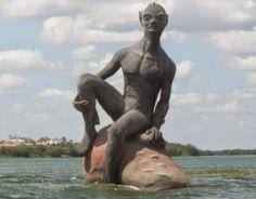 Lendas folclóricas brasileira - Personagens, história, origem e imagens Helsinki, Garden Sculpture, Around The Worlds, Outdoor Decor