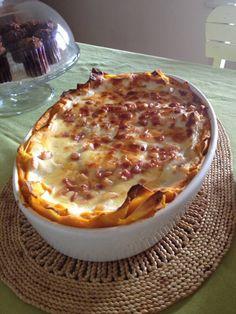Lasagne di Zucca e Pancetta