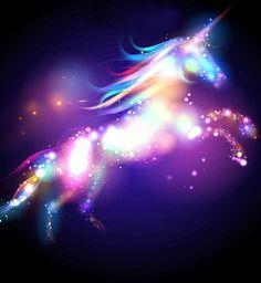 Illustration of Star magic unicorn logo template. vector art, clipart and stock vectors. Unicorn And Fairies, Unicorn Fantasy, Real Unicorn, Magical Unicorn, Unicorn Images, Unicorn Pictures, Unicorn Logo, Unicorn Art, Magical Creatures
