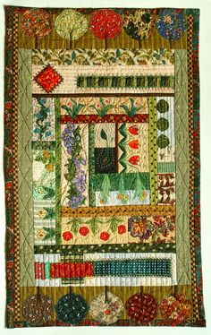 The Textile Cuisine: How does my garden grow? / Od łyczka do rzemyczka...