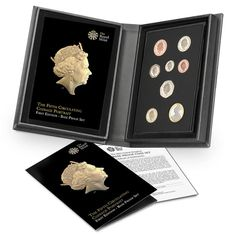 The Fifth Definitive Royal Coinage Portrait Set -  http://www.royalmint.com/Features/The-Fourth-and-Fifth-Definitive-Coinage-Portrait