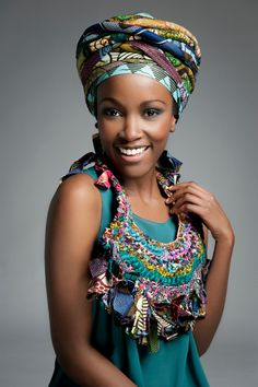 I am sure you all remember my previous post about Afrocentric accessory designe r Toubab Paris . She just released her new winter . African Beauty, African Women, African Fashion, Photographie Portrait Inspiration, African Head Wraps, Ethnic Patterns, African Dress, Beautiful Black Women, Urban Fashion