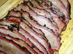 Smoked Brisket   ~~~   If you have access to a smoker this is a to-die-for brisket recipe... A must try.