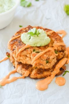 These easy keto salmon cakes are a fun and flavorful low carb meal without any hassle. Great for quick lunches and easy meal prep!