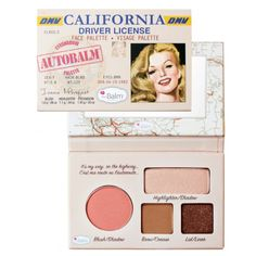 Make your eyes pop with this face palette by theBalm. theBalm Autobalm California Palette contains blush, eyeshadows and a highlighter to make perfecting your look easy. Make Up Palette, Face Palette, Makeup Eyeshadow, Eyeshadow Palette, Eyeliner, Peach Eyeshadow, Sephora Makeup, Maquillaje The Balm, The Body Shop