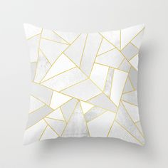 Buy White Stone by Elisabeth Fredriksson as a high quality Throw Pillow. Worldwide shipping available at Society6.com. Just one of millions of products…
