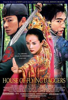 La casa de las dagas voladoras es una película china del año 2004, dirigida por Zhang Yimou y protagonizada por Takeshi Kaneshiro, Andy Lau y Ziyi Zhang.