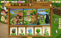 FarmVille 2 - User Interface by Nicolas Bourges, via Behance