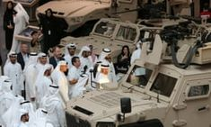 Defence contractors in Abu Dhabi for the Middle East's biggest arms fair are supported to the hilt by UK ministers, says campaigner Andrew Smith International Companies, Amnesty International, Abu Dhabi, Armenian Military, Andrew Smith, Prince Mohammed, Signed Contract, Arab Spring, Europe