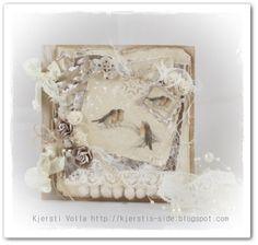 Kjersti's side Christmas Inspiration, Vintage Christmas, Scrap, Frame, Cards, Home Decor, Picture Frame, Decoration Home, Room Decor