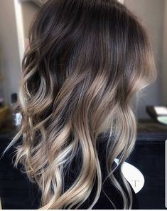 Luscious Balayage With Subtle Purple Tones - 20 Stunning Examples of Mushroom Brown Hair Color - The Trending Hairstyle Brown Hair Balayage, Brown Blonde Hair, Hair Color Balayage, Brunette Hair, Hair Highlights, Dark Hair, Brunette Ombre Balayage, Short Balayage, Blonde Honey